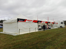 Truss system tents