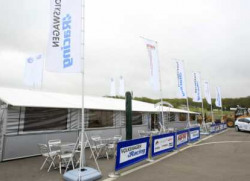 Ex Bridgestone F1 Hospitality Unit