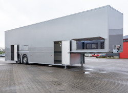 Speed-Line double deck multi space race trailer