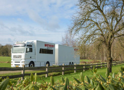 MAN TGA 18.460 rally/race service truck with Kuiper trailer